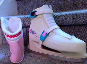 Ladies size 10 2-buckle Skates, made by Lange, model Freestyle