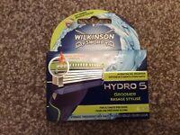 BNIB Wilkinson Sword Hydro 5 pack of 4 blades