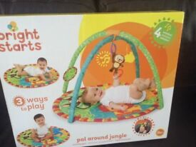 Baby play mat hardly used boxed