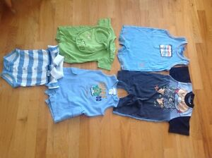 Boys rompers and shirt