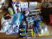 All brand new soaps office supplies lip balm food wrap& more