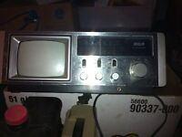 Selling a small Old TV Radio combo