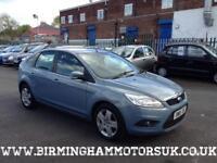 2009 (09 Reg) Ford Focus 1.8 Style 5DR Hatchback BLUE + LOW MILES