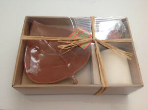 Deluxe home decor candle gift set (NEW)