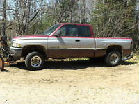 1996 Dodge Ram 2500 4X4 Pickup Truck with Plow