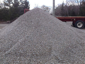 Gravel &stone for parking lots & driveways