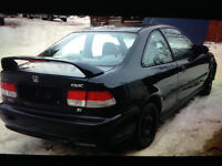 99  Honda civic SI coupe with 1.6L new motor & transmission