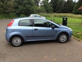 Low Mileage 2008 Fiat Grande Punto 1.2. Long MOT £1450