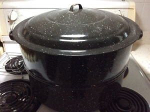 Large 10 Gallon Stock Pot Corn Pot