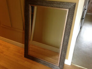 Large bevelled mirror from Homesense