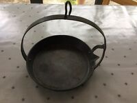 Antique griddle pan