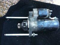 6 Speed Starter Motor from a Golf GT Tdi