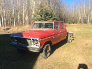 1979 Ford F-250 Crew Cab Short Box