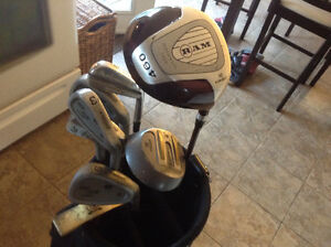 Golf clubs and bag $50.00 obo
