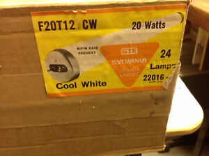 F20T12 CW Florissant Lamps.  - 16 new in box