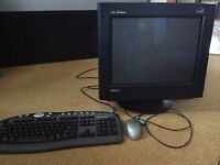 "Cicero 18"" monitor and key board"