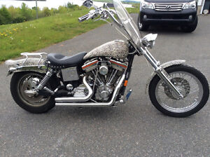 Nicely customized /97 Dyna too much to list