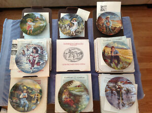 8 Dominion China Ltd. Collector Plates
