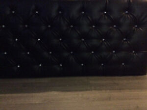 King size tufted headboard