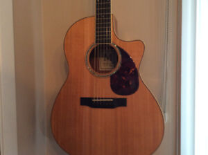 GUITARE ACOUSTIQUE MORGAN CVM CONDITION MINT(COLLECTION PRIVÉE)