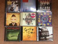 Box of CDs (100+) - Mixed Music Styles. Pop/ Rock, Indie, Dance & Pop.