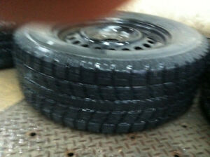 Toyo Observe GSI-5 winter tires used only 4 months and rims