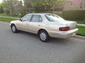 1996 Toyota Camry Beige 2.2 4 cyl. automatic, loaded,very clean.