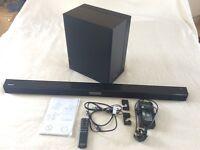 Samsung HW-H- 450 wireless Bluetooth Soundbar and wireless sub woofer