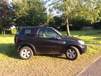 Toyota RAV4 XT-R 3dr 2005 2.0 petrol manual 1 lady owner from new FSH