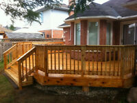 DECK and FENCE Installation + Repair | FREE Estimate