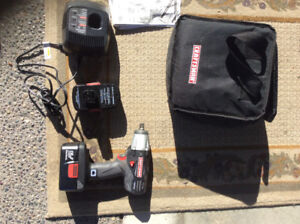 Craftsman impact rechargeable 19.2 drill