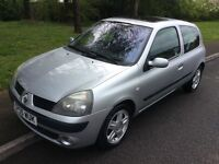2005 Renault Clio 1.2 dynamique-51,000-full service history-12 months not-ideal first car