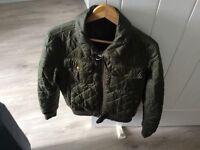 Men - Barbour Jacket - Size M- Olive green