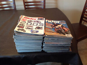 Vintage motorcycle magazines, 300+, variety of Titles
