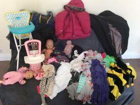 Car boot job Lot toys & clothes