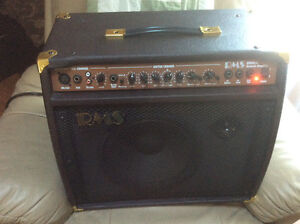 RMS Acoustic amplifier excellent condition hardly used. Stratford Kitchener Area image 3