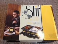 Swiss party grill - boxed - brand new - unused!