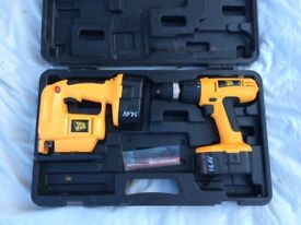 JCB CORDLESS JIGSAW AND DRILL 14.4V BRAND NEW FOR SALE