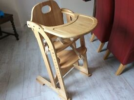 East cost multi height high chair