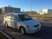 2001 Honda Odyssey Fully loaded Minivan
