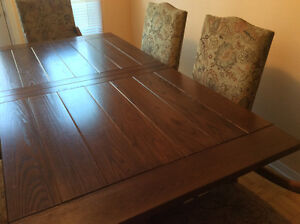 Real Wood Dining Room Set West Island Greater Montréal image 5