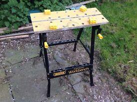 Draper folding work bench £10