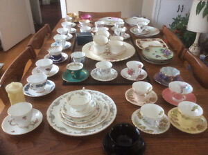 Tea cups and saucers,plates and cups & individual plates