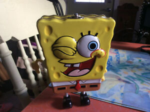 1985 Tin Sponge bob square pants lunch box