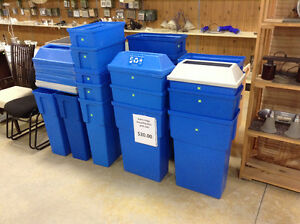 Plastic Recycling Container @ the Cambridge Restore