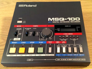 Roland MSQ-100 – Enregistreur / Séquenceur MIDI digitale pour sy