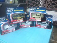 James Bond collectable cars