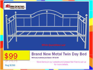 ◆Boxing Day In July Sale◆ Brand New Day Bed Blow-Out◆