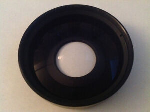Wide angle adapter for 10mm Bolex lens