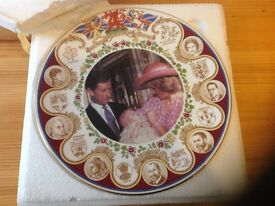 HRH Prince William of Wales Christening Plate